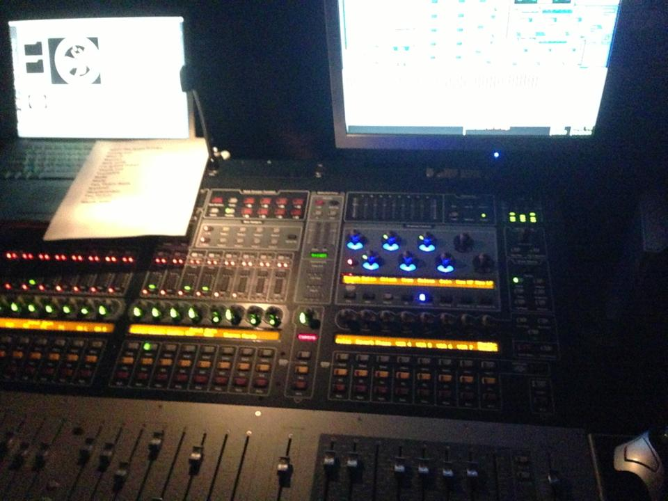Live Sound with Hammer of the Gods, Venue Board