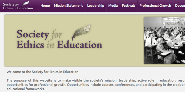 Society for Ethics in Education