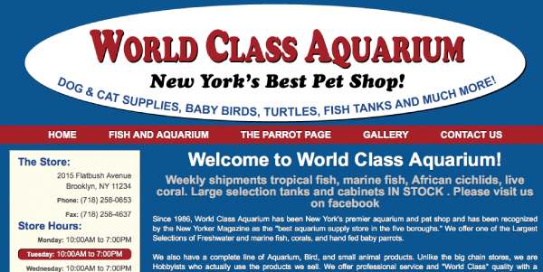 World Class Aquarium